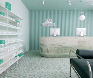 Sergio Mannino Designs New Medly Pharmacy in Brooklyn