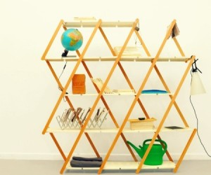 Set: Expanding Shelving By Stephanie Hornig