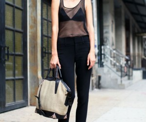 Sexy Sheer Tops For 2016 Spring Style