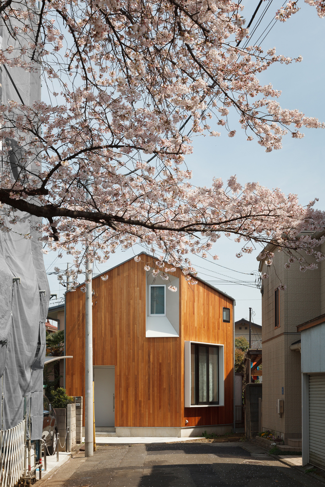 Shakujii u house by atelier kukka architects for De atelier architects