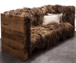 Sheepskin Wool Sofa
