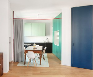 Sheet Apartment in Milan by ITCH Studio