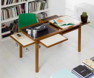 Shift  slide: the Hexa adjustable table