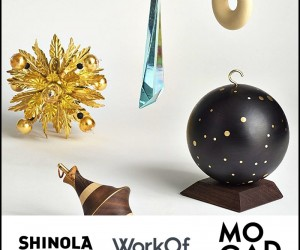 Shinola X WorkOf Auction 40 One of A Kind Artist Ornaments