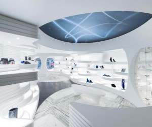 Shoebaloo Koningsplein Flagship Store by MVSA Architects
