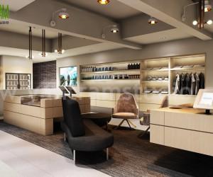 Shop Interior Design Ideas | 3d Interior Modeling by Yantram Architectural Design Studio - New York, USA