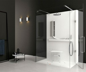 Shower System by Giulio Gianturco