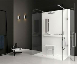 Shower System by Giulio Gianturco