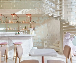 Shugaa Dessert Bar Bangkok by party  space  design