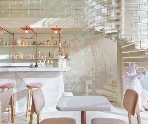 Shugaa Dessert Bar Bangkok by party  space  design