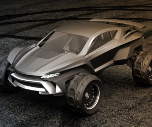 Sidewinder Dramatic Future Car