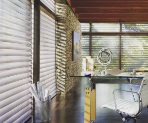 Silhouette Window Shades with Motorization System