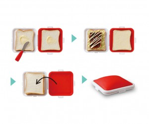 Silicone Sandwich Holder