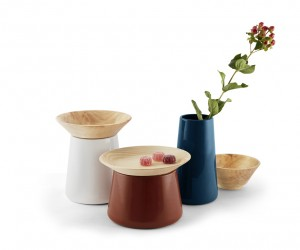 SILO: ceramic containers design by Filippo Castellani for Incipit