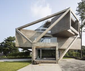 Simple House by Moon Hoon on Jeju island