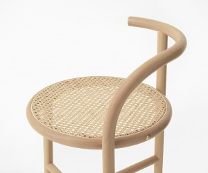 Single-Curve Furniture Collection by nendo