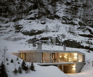 Sirdalen House is a Perfect Getaway in Norwegian Mountains