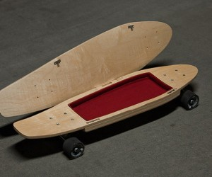 Skateboard Storage Deck