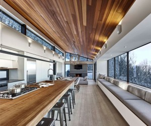Ski Chalet by Robitaille.Curtis