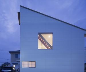 Skip House in Atsugi by Kohei Maruyama Architects