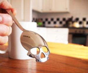 Skull Shaped Sugar Spoon