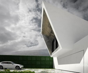 SkyFall House by JABRAARCHITECTS Tomasz Zaleski