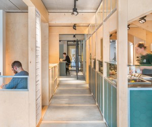 SLA Salad Bar In Amsterdam by Standard Studio