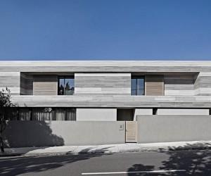 Sleek Melbourne Home Allures with a Creative Contemporary Facade