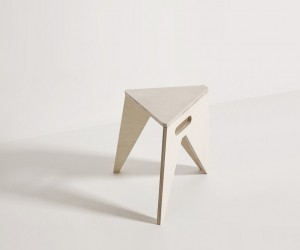 Slim Stool by Olivier Roels  ARBIJT