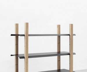 Slot Shelf by Klemens Schillinger