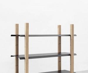 Slot Shelf by Klemens Schillinger