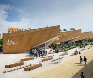 Slovenia Pavilion for Expo 2015 by SoNoArhitekti