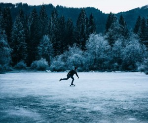 Slovenian Skaters Shredding Through The Woods and Ice by Anze sterman