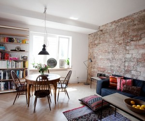 Small Apartment In Warsaw Gets A Cheerful Makeover