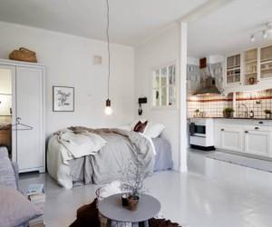 Small apartment, Swedish style
