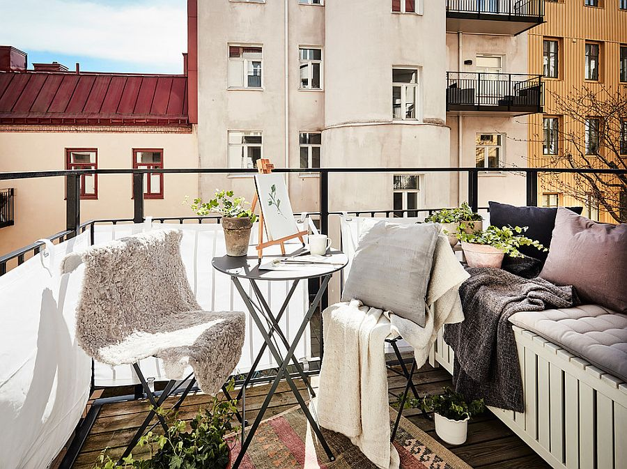 Small Balcony Decorating Ideas with an Urban Touch: 25 Ideas ...