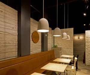 Small Caf Located in Mexico City Designed By Bou Arquitectos