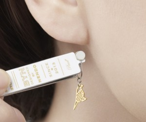 Small Stories Earring Collection by nendo