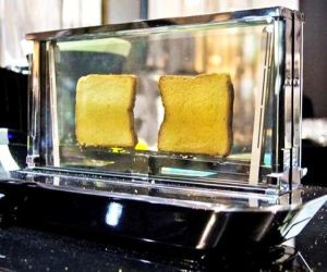 Smartphone-controlled Noun Glass Toaster Breaks the Rules