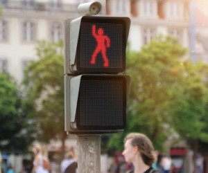 Smarts Dancing Traffic Light Manikin
