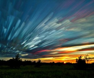 Smeared Sky by Matt Molloy