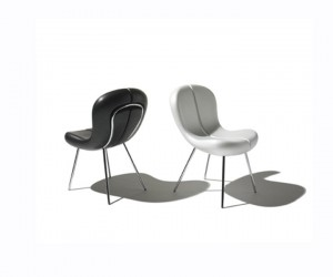 Snap Chair: Stylish Two Colour Cradle Chair