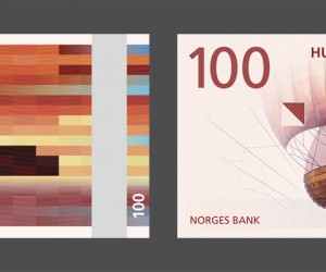Snhetta Designs New Banknotes for Norway
