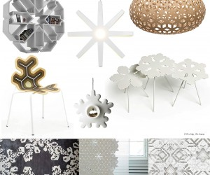 Snowflake-Inspired Modern Home Furnishings