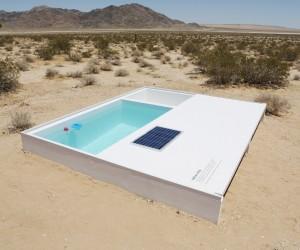 Social Pool in the Mojave Desert by Alfredo Barsuglia