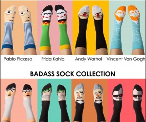 Socks For Art Lovers and Movie Buffs