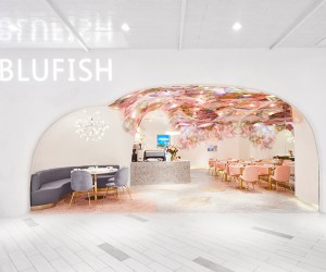 SODA Architects Designs Blufish Restaurant in Beijing