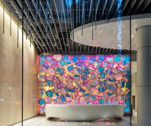 SOFTlab creates a Geode Shaped Installation in New York