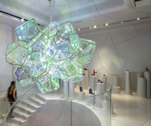 SOFTlab Crystallized Installation for Melissa NYC