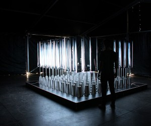 SOFTLab Volume Interactive Light Installation